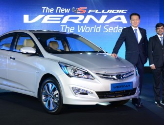 Hyundai launches the All- New 4S Fluidic Verna- The World Sedan