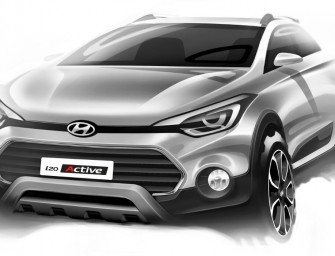Hyundai Motor India unveiled the design expressions of SUV Styled Car named 'i20 Active'