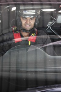 That glee on your face when you are about to drive the Polo on track.