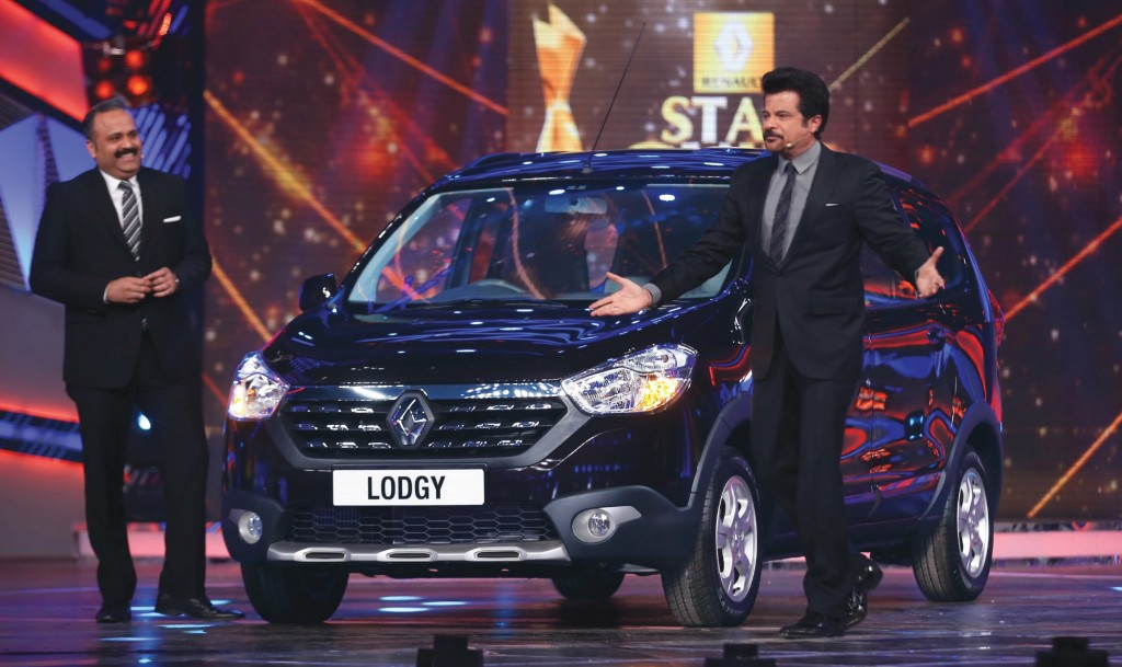 Renault Lodgy at Star Guild Awards_2