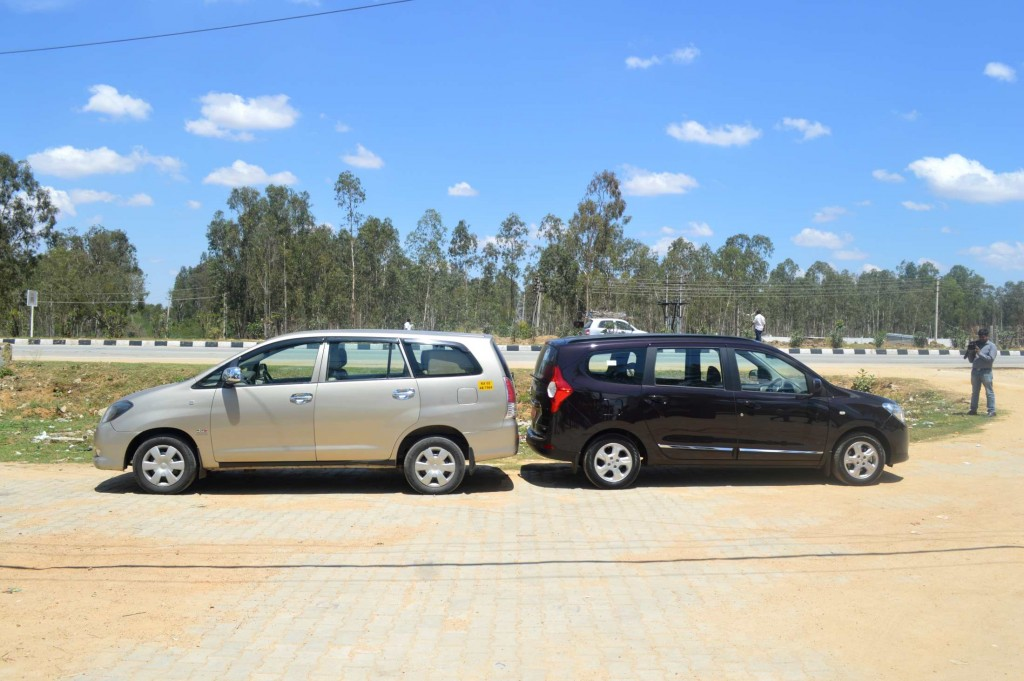 Being smaller than the Innova doesn't mean compromising on space!