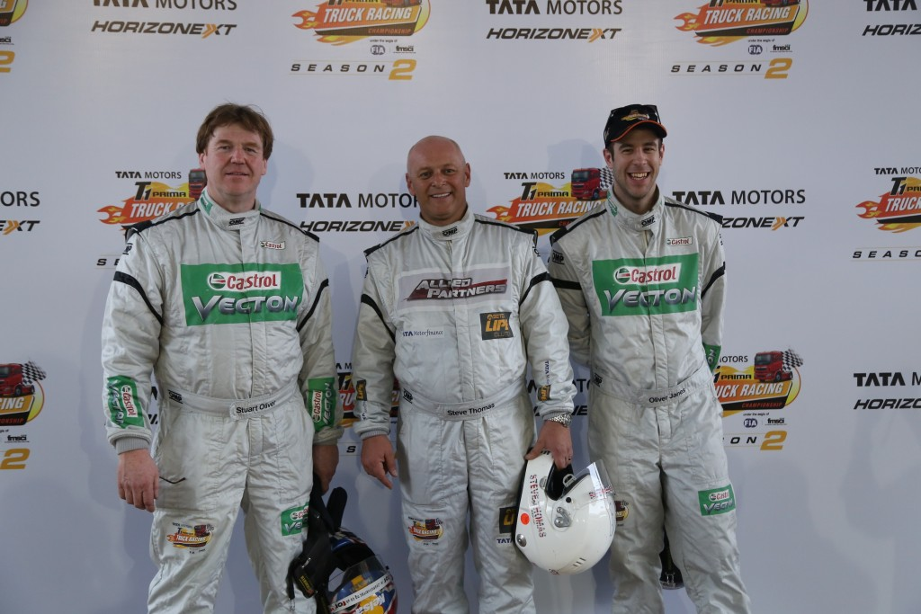Tata Motors T1 Prima Truck Racing Championship - March 14, 2015