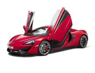 McLaren has unveiled their new 540C Coupe at the Shanghai Motor Show: their most affordable model to date