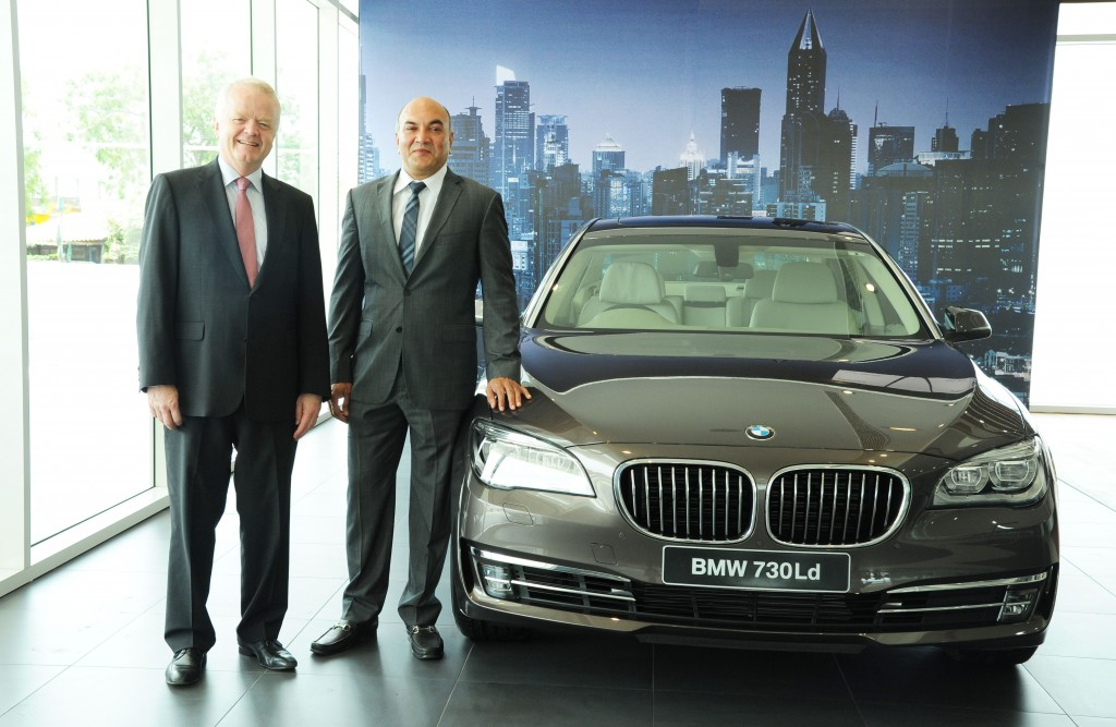 Mr. Philipp von Sahr, President, BMW Group India with Mr. Gautham Gudigopuram, MD, KUN Exclusive