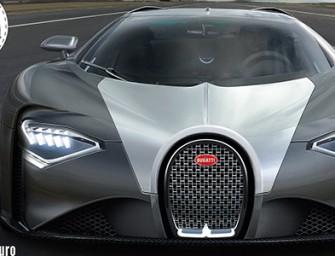 Ladies and gentlemen, the Veyron's successor: Bugatti Chiron