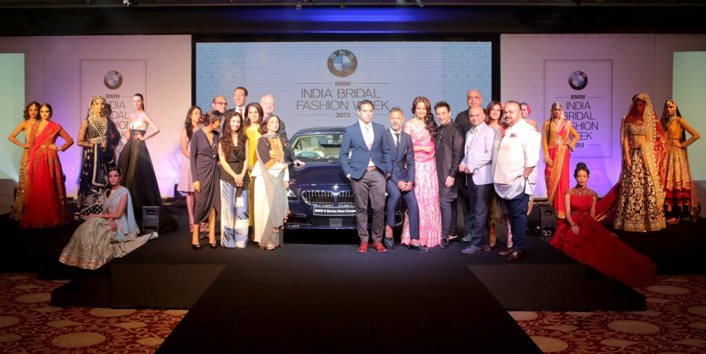 Curtain Raiser of BMW India Bridal Fashion Week 2015