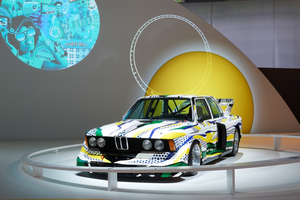 BMW Art Car by Roy Lichtenstein