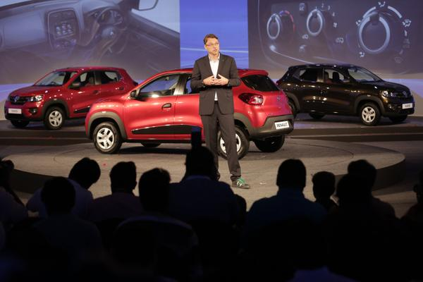 Laurens Van Den Acker, SVP, Corporate Design, Groupe Renault, talks about the design of the Renault Kwid