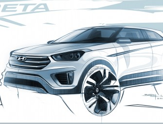 "Hyundai Motor Unveils Design Renderings of New Global SUV ""Creta"""