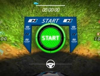 Hyundai introduces i20 WRC application VR+