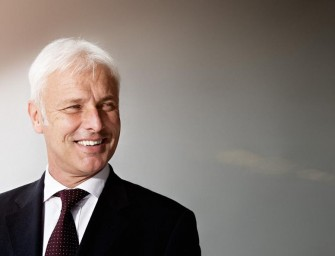 Matthias Müller appointed CEO of the Volkswagen Group