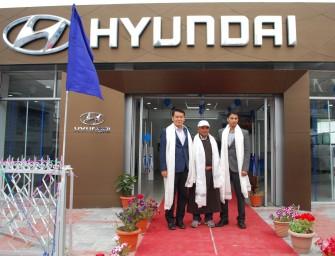 """Hyundai Motor inaugurates Premium Dealership """"Togo Hyundai"""" in Leh"""