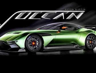 Aston Martin Vulcan in tribute to its V bomber namesake