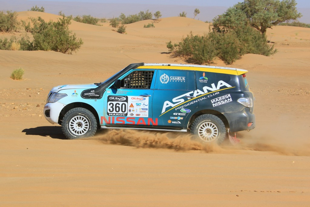 First & Second Place Championship Victory for Nissan Patrol in Rallying's Cross-Country FIA World Cup