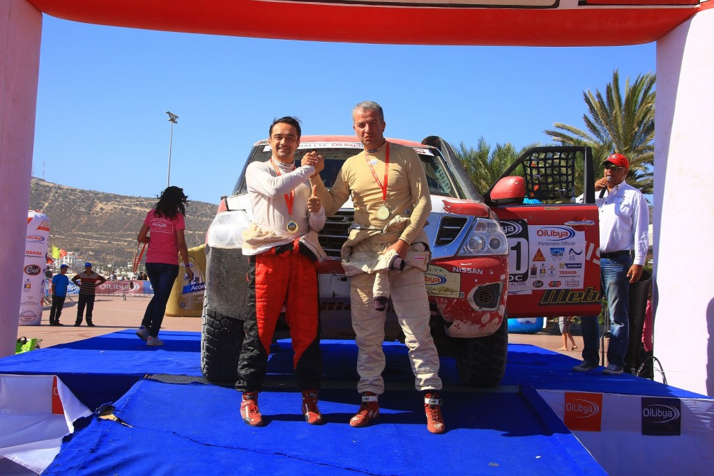 First & Second Place Championship Victory for Nissan Patrol in Rallying's Cross-Country FIA World Cup (4)