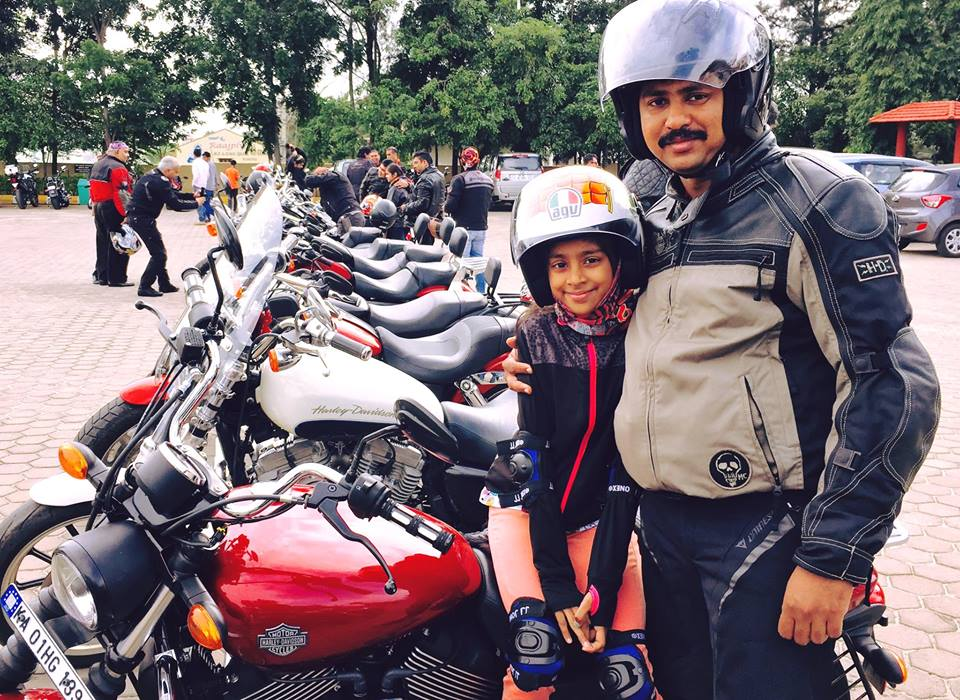 Harley owners gathered with their daughters to celebrate the Father-Daughter Ride_Image 5