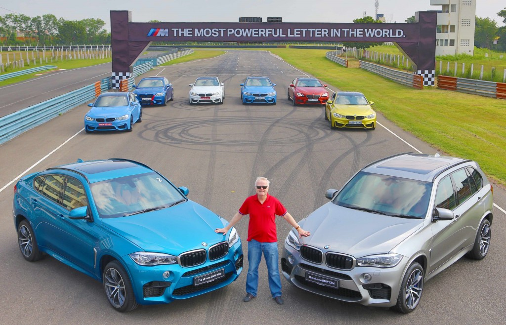 Mr. Philipp von Sahr with the all-new BMW X5M and the all-new BMW X6M