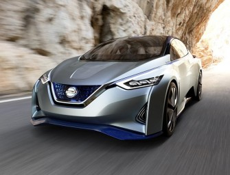 Nissan's vision for the future of EVs and autonomous driving – Nissan IDS Concept