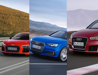 Regional premiere for three new Audi models at Dubai International Motor Show