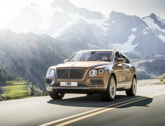 Bentley Bentayga revealed at Dubai International Motor Show 2015