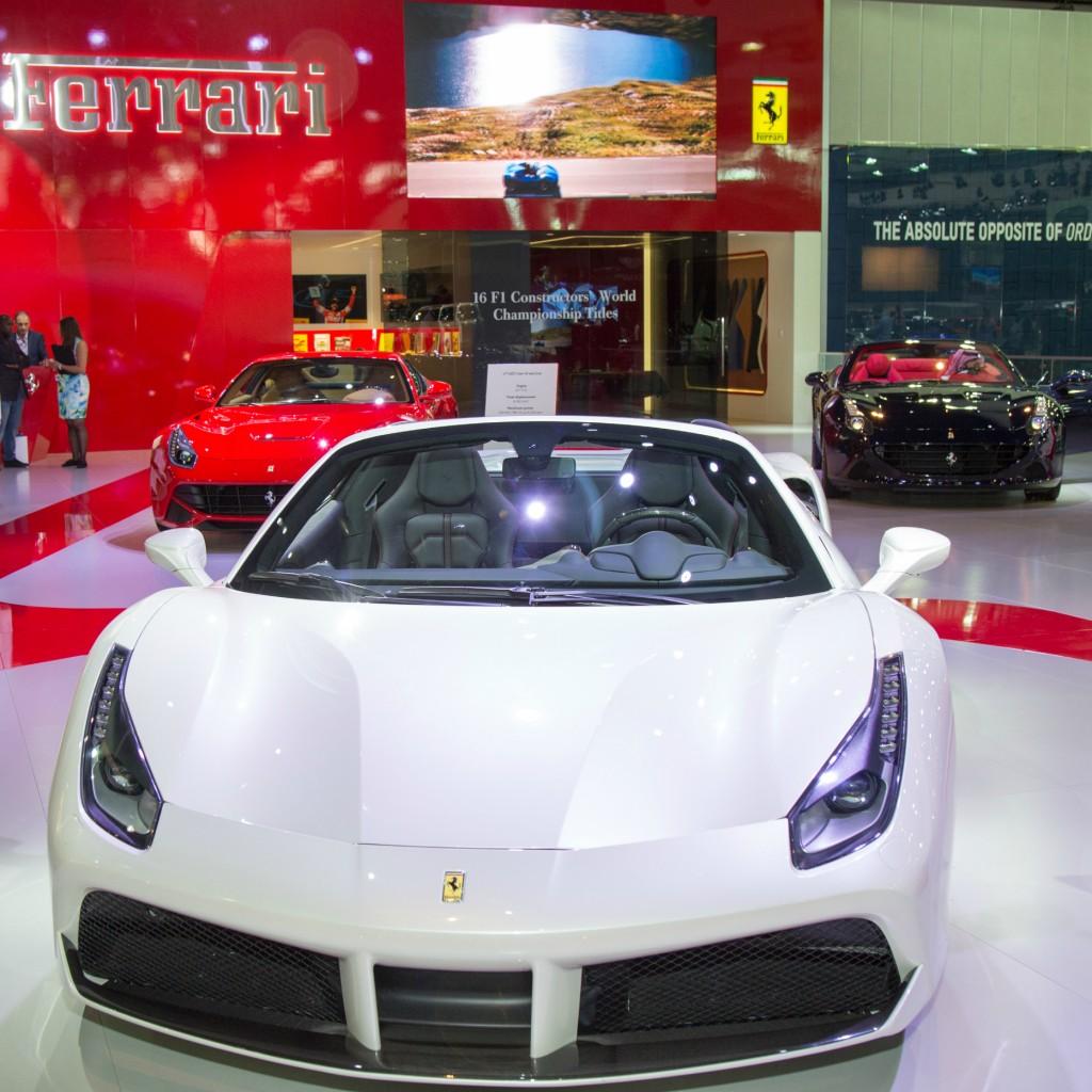 Ferrari 488 Spider Unveiled at Dubai International Motor Show