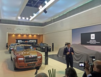 Rolls Royce at Dubai International Motor Show