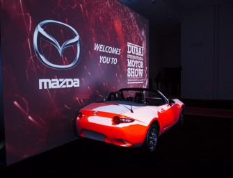 ALL-NEW MAZDA MX-5 LAUNCHED AT DUBAI INTERNATIONAL MOTOR SHOW