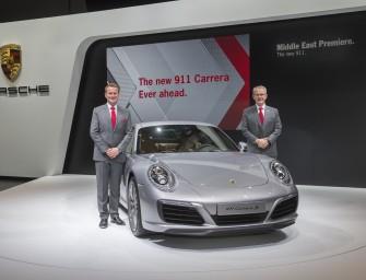 New Porsche 911 Carrera unveiled at Dubai Motor Show