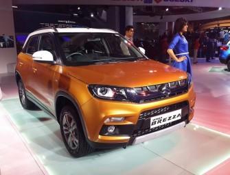 Auto Expo 2016: Maruti Suzuki Vitara Brezza unveiled!