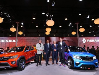 Auto Expo 2016: Renault Kwid Climber and Racer Unveiled!
