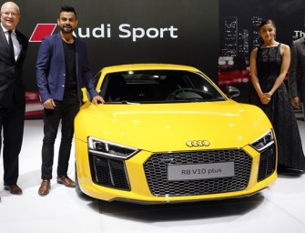 Auto Expo 2016: New Audi R8 V10 Plus launched at Rs 2.47 crore in India!