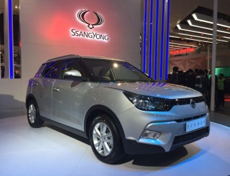 Auto Expo 2016: SsangYong Tivoli unveiled in India!