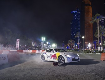 Nissan To Power Red Bull Car Park Drift 2016