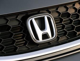 Honda cars domestic sales: 10,486 units sold in April 2016