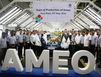 Volkswagen Ameo: Production in full swing as first car rolls off assembly line