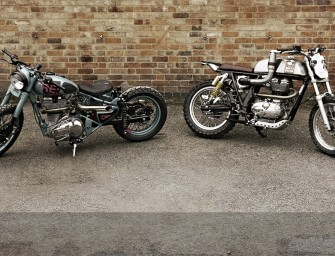 Royal Enfield shows off custom bikes at Wheels and Waves festival in France