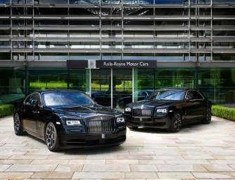 Rolls Royce to reveal Ghost and Wraith 'Black Edge' editions at Goodwood Festival of Speed 2016