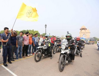 Royal Enfield flags off first-ever edition of women's Himalayan Odyssey