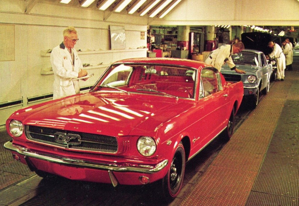 Ford-1965-Ford-Mustang-assembly-line