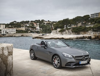 Mercedes-AMG launches SLC 43 at Rs 77.5 lakh