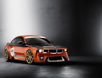BMW 2002 Hommage with new livery ready for Pebble Beach Concours, starting August 21st