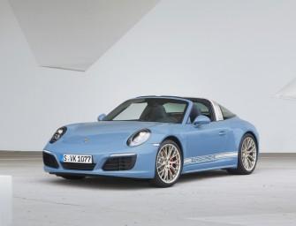 Porsche unveils a limited edition 911 Targa 4S