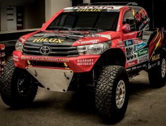 Toyota Hilux Evo rally car revealed; ready for 2017 Dakar Champoinship