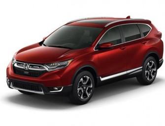 2017 Honda CR-V unveiled