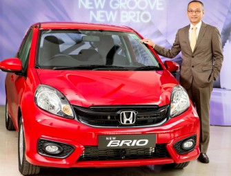 Face-lifted Honda Brio launched at Rs 4.69 lakh