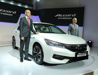 Honda launches Accord Hybrid at Rs 37 lakh