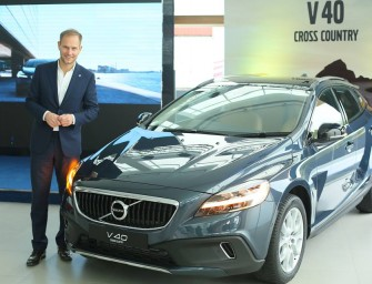 2017 Volvo V40 launched at Rs 25.49 lakh