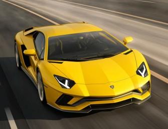 2017 Lamborghini Aventador S Coupe unveiled