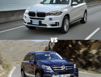 BMW X5 vs MERCEDES GLE: the Teutonic tussle