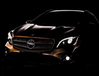 Mercedes-Benz GLA facelift teased ahead of Detroit unveiling